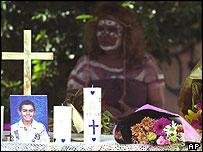 Hickey's memorial service