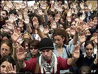 Demonstration in Seville