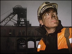 A miner and colliery