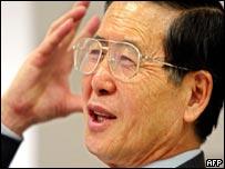 Alberto Fujimori in Japan
