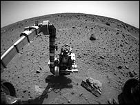 Image taken by Opportunity rover, Nasa