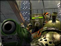 Screenshot from Unreal Tournament 2004. Atari