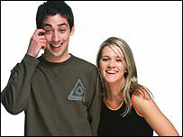 Colin Murray and Edith Bowman