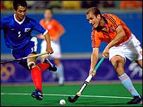 The Netherlands beat South Korea in the 2000 Olympic final.