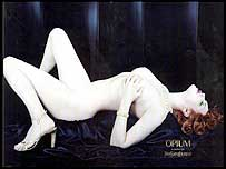 Sophie Dahl in a controversial ad campaign