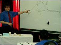 Matthew Richardson teaching at Beijing University
