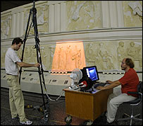 Scanning casts of the Marbles (Picture - ICT)