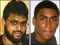 British detainees Moazzam Begg (left) and Feroz Abassi
