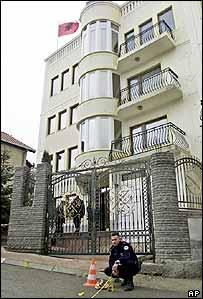 Rugova's residence in Pristina