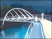 The design of the new bridge