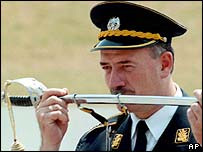 Major Slivancanin, one of the 'Vukovar Three' is awaiting trial in The Hague
