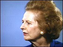 Lady Thatcher