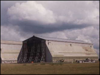 Airship hangars at Cardington