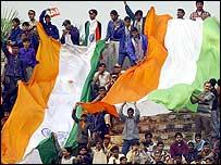 Фанаты сборной Индии по крикету