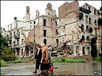 Руины Грозного