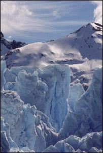 Glaciar Perito Moreno. Foto cortes�a http://www.losglaciares.com
