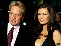 Douglas and Zeta Jones