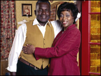 Rudolph Walker and Angela Wynter