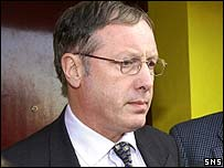 Partick Thistle chairman Tom Hughes