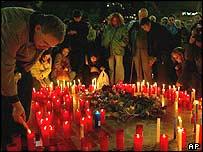 تجمع للحداد في برشلونة