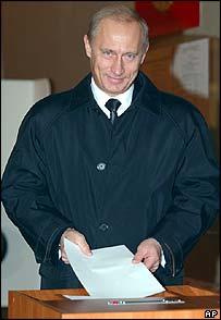 Putin voting