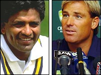 Ranatunga and Warne