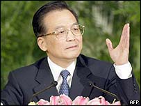 Wen Jiabao, China's prime minister