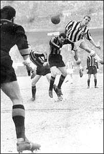 John Charles played Wales, Cardiff, Leeds, Juventus and Roma