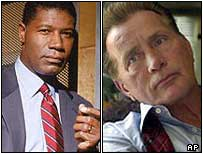 24's David Palmer [Dennis Haysbert] and The West Wing's Jed Bartlet [Martin Sheen]
