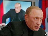 Russian President Vladimir Putin