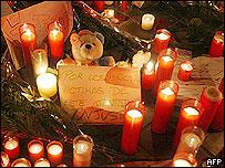 Vigilia en Madrid por las víctimas del atentado.