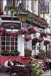 Un pub de Notting Hill