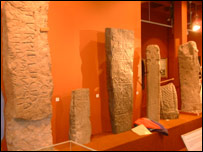 Medieval inscribed stones