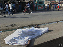 Partidario de Aristide muerto en Cabo Haitiano