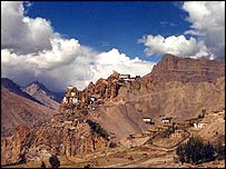 The Spiti Valley in northern India