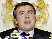 Президент Саакашвили