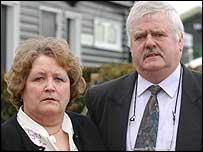 Rachel Whitear's parents