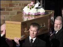 Anne and Ashley Martin funeral