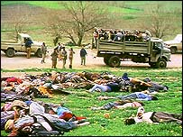 Victims of the 1988 Halabja chemical gas attack