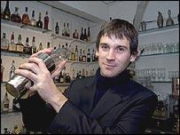 Bartender Ben Reed