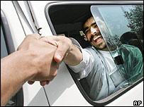 Released Afghan prisoner returns home