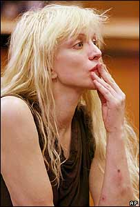 Courtney Love in court