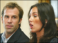 Greg and Lucy Rusedski