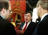 Gordon Brown, PA