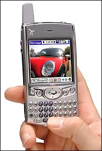 Treo 600 smartphone