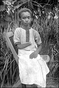 victim of King Leopold's agents