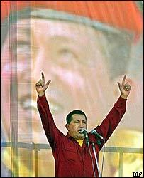 Ông Chavez đăng đàn diễn thuyết