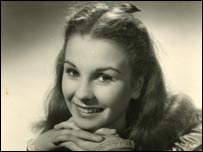 Jean Simmons as a child star