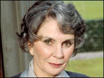 Jean Simmons in a 1991 Miss Marple mystery