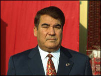 President Saparmurat Niyazov